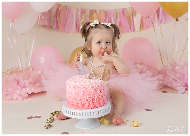 First Birthday Cake Smash Photography By Lindsay Martinsburg Wv