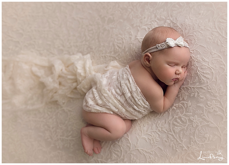 Newborn photo outfit girl Baby girl Cream Lace Outfit baby girl portrait